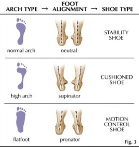 foot-type-diagram